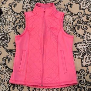 Fila sport pink vest.
